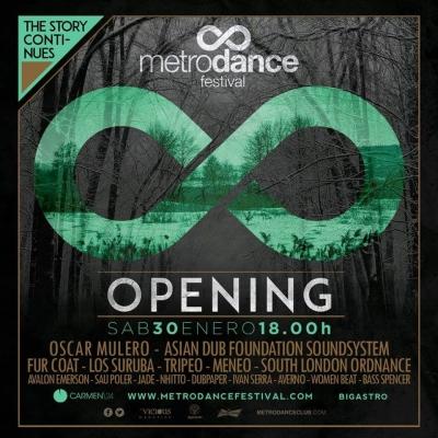 OPENING EDITION 2016 – METRO FESTIVAL